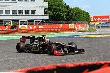 Formel 1 - Uneinigkeit �ber die Lenkung?: Villeneuve: Lotus k�nnte R�ikk�nen ersetzen
