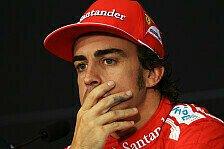 Formel 1 - Alonso: Keine Gedanken über Teamkollegen
