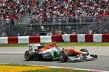 Formel 1 - Hülkenberg erwartet Spaß in Valencia