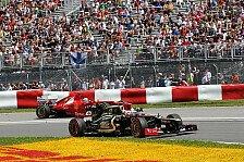 Formel 1 - Räikkönen: Temperaturen gut für Lotus