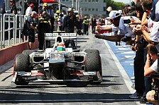 Formel 1 - Ein mexikanischer Weltmeister: Slim schlie�t Perez-Wechsel nicht aus