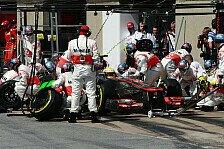 Formel 1 - 800 Testl�ufe: McLaren: Fehler f�r Valencia-Panne gefunden