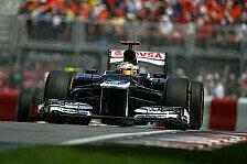 Formel 1 - 1. Training: Maldonado fährt Bestzeit