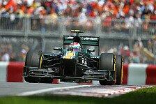 Formel 1 - Caterham: Mit gemischten Gefühlen nach Valencia