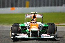 Formel 1 - Hülkenberg: Schnelle Kurven problematisch