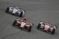 IndyCar - Nur nicht Vollgas: Fontana-Aerospezifikation getestet