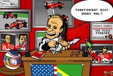 Formel 1 - Rubens packt die Voodoo-Puppe aus: Comic: Schumacher von altem Freund verhext?