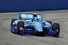 IndyCar - Hunter-Reay und Barrichello hinter dem Meister: Pole f�r Dario Franchitti in Milwauke