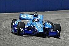 IndyCar - Hunter-Reay und Barrichello hinter dem Meister: Pole f�r Dario Franchitti in Milwauke