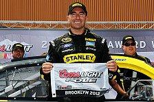 NASCAR - Rekordzeiten auf neuem Michigan-Asphalt: Erste Sprint-Cup-Pole f�r Marcos Ambrose