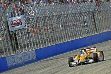 IndyCar - Franchitti schreibt Nullrunde: Hunter-Reay triumphiert in Milwaukee