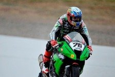 Superbike - Baz trotzt dem Regen: Kaum Test-Action in Aragon