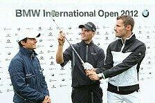 Golf-Profi Martin Kaymer hat im Mercedes am Nürburgring die Rennlizenz erworben