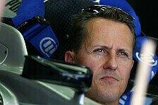 Formel 1 - Schumacher: Sieg wäre zu optimistisch