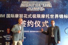 NIGHT of the JUMPs - Die NIGHT of the JUMPs erobert China: Freestyle MX startet in Peking