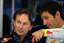 Formel 1 - Red Bull setzt sich mit Webber zusammen