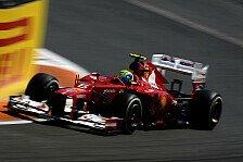 Formel 1 - Massa: Silverstone sollte dem F2012 liegen