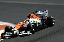 Formel 1 - Safety-Car f�r Di Restas Einstoppstrategie schlecht: Force India bejubelt bestes Saisonergebnis