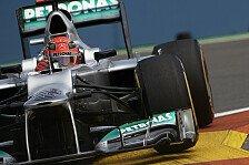 Formel 1 - Fokus liegt auf Renn-Performance: Schumacher: P12 wegen Setup-Einstellung?