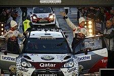 WRC - Keine nennenswerten Fehler: Neuville: Platz vier war drin