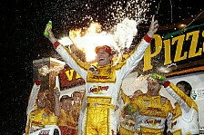 IndyCar - Munteres Favoritensterben : Hunter-Reay jagt Gesamtf�hrung nach Iowa-Sieg