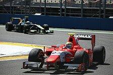 GP2 - Nur noch ein Punkt hinter Valsecchi: Razia: Sprintsieg in letzter Runde