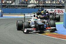 Formel 1 - Perez gibt sich Chancen auf den Sieg