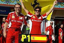 Formel 1 - Qu�lende Frage: Aufs falsche Pferd gesetzt?: Alonso: F�r immer bei Ferrari