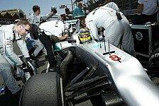 Formel 1 - Noch wichtiger als die Aerodynamik: Mercedes: Fokus verst�rkt auf den Reifen