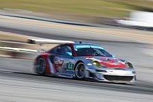 USCC - Ein unglaubliches Gef�hl: Zwei Porsche 911 GT3 RSR im Qualifying vorne
