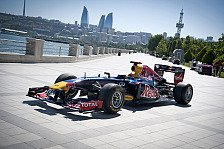 Formel 1 - Bilder: Coulthards Showrun in Baku