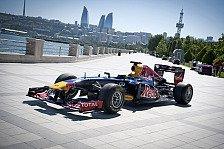 Formel 1 - Stra�enkurs am kaspischen Meer: Aserbaidschan: Europa GP ab 2016 in Baku