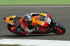 MotoGP - Bizarrer Sturz von Pasini: Pedrosa startet auf Sachsenring mit Bestzeit