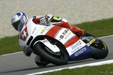 Moto2 - Krummenacher st�rzt: R�ckschlag f�r Grand Prix Team Switzerland