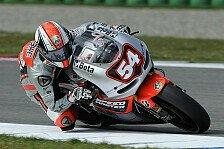 MotoGP - Immer wieder Unterbrechungen: Pasini mit schwierigem Tag und gutem Ergebnis