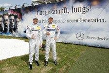 DTM - Gutes Pflaster f�r Mercedes: Schumacher: Ordentliches Resultat beim Finale
