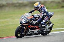 Moto2 - Ein Lebenszeichen von Elias: 1. Training: Rabat vor den WM-Rivalen