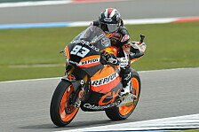 Moto2 - L�thi und Espargaro st�rzen: Marquez gewinnt in Assen vor Iannone