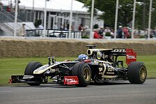 Formel 1 - Potenzial zeigen: Prost, Mortara & Valsecchi testen f�r Lotus