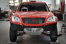 Dakar - Voller Vorfreude nach Russland: HS Rallye Team: SAM-Prototyp fertig