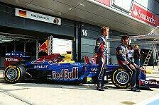 Formel 1 - Webber und Vettel unterwegs f�r den guten Zweck: Tausende Fan-Fotos auf dem Red Bull