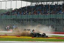 Formel 1 - Wetter als Geduldsprobe f�r die Zuschauer: Streckenchaos: Warwick bittet um Verst�ndnis