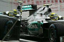 Formel 1 - Jede Kurve ist immer anders: Rosberg: Regenreifensparen elementar