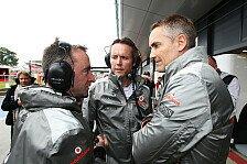 Formel 1 - K�nnen damit umgehen: Whitmarsh: Abg�nge nicht schuld an Situation