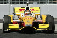 IndyCar - Titelentscheidung in Fontana: Hunter-Reay gewinnt in Baltimore