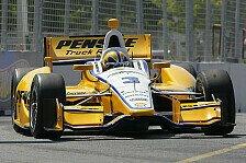 IndyCar - Dixons sp�te Runde reicht nur zu P2: Castroneves: Nach Dreher Bestzeit