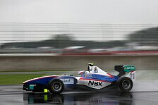 GP3 - Daniel Abt im Pech: Niederhauser gewinnt Regen-Rennen