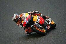MotoGP - Bradl fuhr lange um die Spitze mit: Stoner erobert Regen-Pole in Deutschland