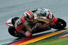 MotoGP - Maschine im Nassen gut: Pasini von Quali-Sturz unbeeindruckt