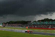 Formel 1 - Regen im Rennen m�glich: Gro�britannien GP: Die Wetterprognose